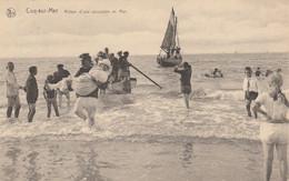 Coq Sur Mer , De Haan , Retour D'une Excursion En Mer - De Haan