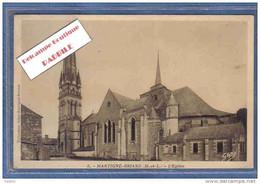 Carte Postale  49. Martigné-Briand  L'église Trés Beau Plan - Sonstige Gemeinden