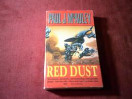 RED DUST  / PAUL  J McAULEY - Science Fiction