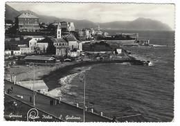 7833 - GENOVA CORSO ITALIA S GIULIANO ANIMATA 1951 - Genova (Genoa)