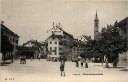 Luzern - Franziskanerplatz - LU Lucerne