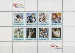 Österreich 2007 Sporthilfe Personalisierter Kleinbogen (C96191) - Sellos Privados