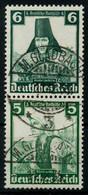 D-REICH ZUSAMMENDRUCK Nr S233 Zentrisch Gestempelt SENKR PAA X7A18F6 - Zusammendrucke