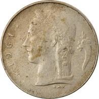 Monnaie, Belgique, Franc, 1961, TTB, Copper-nickel, KM:142.1 - 04. 1 Franc