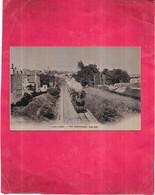 ANGOULEME - 16 -   Vue Panoramique Coté Sud - Train à Vapeur - SWP - - Angouleme