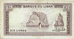 Liban - Billet De 10 Livres - 1986 - P63f - Lebanon