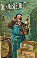 Rare Cpa Cognac Bisquit - Reclame