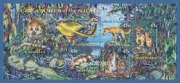 AUSTRALIA 1997  NIGHT CREATURES  M.S.  S.G. MS 1719   U.M. N.S.C. - Nuevos