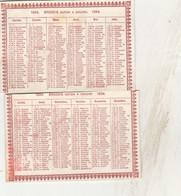- Petit Calendrier En Deux Parties De 1894 - 103 - Small : ...-1900