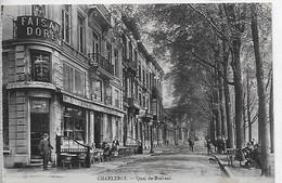 [HAIN 2 ]  Charleroi   --  (  393  )      Quai De Brabant (café) - Charleroi