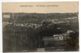 CPA   60    LIANCOURT    ANNEES 1900     VUE AERIENNE - Liancourt