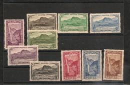 1939/40 N° Y/T: 163/174* - Unused Stamps