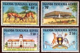 Kenya Uganda Tanzania 1972 Uganda Independence Animals MNH - Kenya, Oeganda & Tanzania