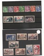 1949/56  LOT OBLITÉRÉS   CÔTE : 24,70 € - Oblitérés