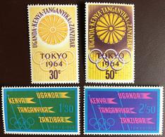 Kenya Uganda Tanzania 1964 Olympic Games MNH - Kenya, Oeganda & Tanganyika
