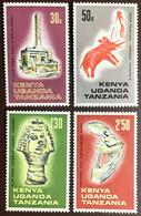 Kenya Uganda Tanzania 1967 Archaeological Relics MNH - Kenya, Oeganda & Tanganyika