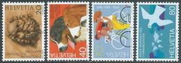 1983 SVIZZERA PROPAGANDA MNH ** - RD21-4 - Unused Stamps