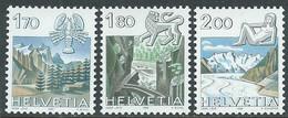 1983 SVIZZERA SEGNI ZODIACALI MNH ** - RD21-3 - Unused Stamps