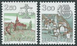 1985 SVIZZERA SEGNI ZODIACALI MNH ** - RD21-3 - Unused Stamps