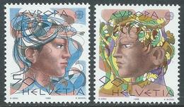 1986 SVIZZERA EUROPA MNH ** - RD21-4 - Unused Stamps