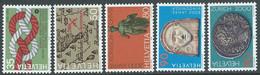 1986 SVIZZERA PROPAGANDA MNH ** - RD21-5 - Unused Stamps