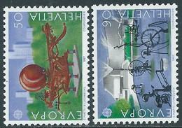 1987 SVIZZERA EUROPA MNH ** - RD21-8 - Unused Stamps