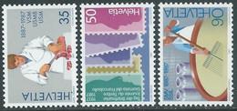 1987 SVIZZERA PROPAGANDA MNH ** - RD21-9 - Unused Stamps