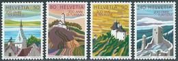 1987 SVIZZERA TURISMO MNH ** - RD21-6 - Unused Stamps