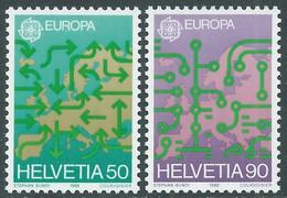 1988 SVIZZERA EUROPA MNH ** - RD21-8 - Unused Stamps