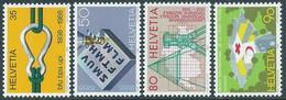 1988 SVIZZERA PROPAGANDA MNH ** - RD21-8 - Unused Stamps