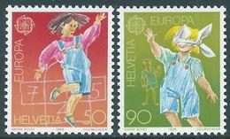 1989 SVIZZERA EUROPA MNH ** - RD21-9 - Unused Stamps