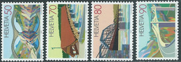 1991 SVIZZERA PONTI MNH ** - RD23-3 - Unused Stamps