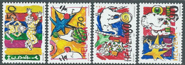 1992 SVIZZERA CIRCO I CLOWNS MNH ** - RD23-3 - Unused Stamps