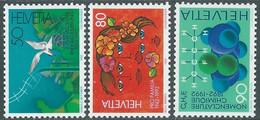 1992 SVIZZERA PROPAGANDA MNH ** - RD23-3 - Unused Stamps