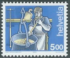 1993 SVIZZERA L'UOMO E I SUOI MESTIERI MNH ** - RD23-5 - Unused Stamps