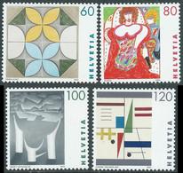 1993 SVIZZERA OPERE DI ARTISTE MNH ** - RD23-7 - Unused Stamps