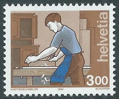 1994 SVIZZERA L'UOMO E I SUOI MESTIERI MNH ** - RD23-6 - Unused Stamps