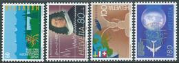 1994 SVIZZERA PROPAGANDA MNH ** - RD23-4 - Unused Stamps