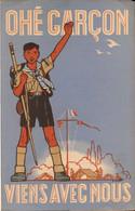 Scout, Scoutisme, Eclaireur De France, Ohé Garçon Viens Avec Nous    (bon Etat) - Non Classés