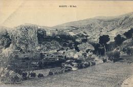ALICANTE  , T.P. NO CIRCULADA , ALCOY - EL SALT . - Alicante