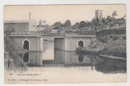 Ath  Pont Du Chemin De Fer 1  Edit De Graeve Gand N° 2155 - Ath