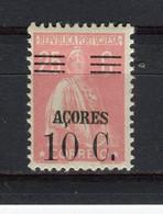 ACORES - Y&T N° 301* - MH - Type Cérès - Azores