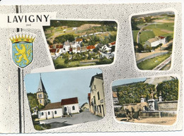 LAVIGNY (39.Jura) Multivues. Blason - Otros Municipios