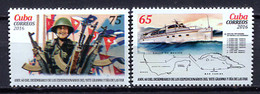 Cuba 2016 / Gramma Military Ship MNH Barco Ejército Gramma Schiffe / Cu2406  10-7 - Nuevos