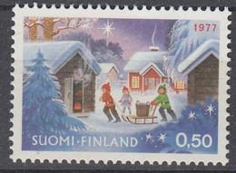 +M1189. Finland 1977. Christmas. Michel 817. MNH(**) - Ungebraucht