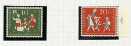 Allemagne Fédérale N°129, 130 Neufs** Cote 6 Euros - Unused Stamps