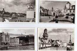 PARIS  EXPOSITION. INTERNATIONALE. - 1937 -  LOT. DE. 27. CPSM. - Toutes Scanées - ( 20 / 11 / 327. ) - 5 - 99 Postcards