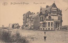 ST IDESBALD-PLAGE. Digue, Coté Est - Koksijde
