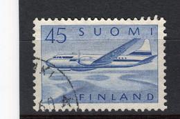 FINLANDE - Y&T Poste Aérienne N° 6° - Avion Convair Métropolitain 440 - Usados