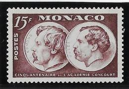Monaco N° 352 - Neuf ** Sans Charnière - TB - Ungebraucht